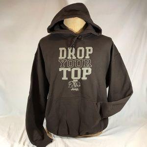 Jeep Hoodie Sweatshirt Drop Your Top Chrysler 2011